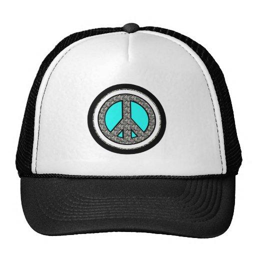 Gorra del signo de la paz