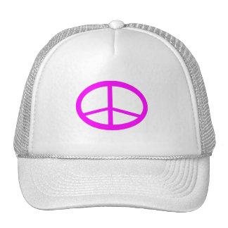 Gorra del signo de la paz de las rosas fuertes