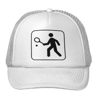 Gorra del símbolo del tenis