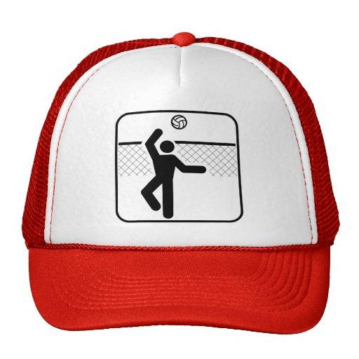 Gorra del símbolo del voleibol