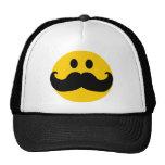 Gorra del smiley del bigote