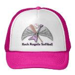 Gorra del softball de los ángeles de la roca