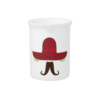 Gorra del sombrero jarrones