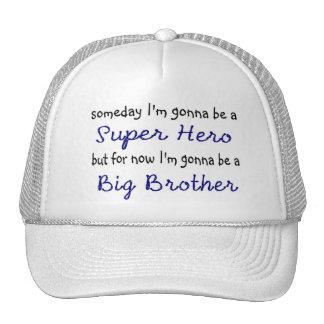 Gorra del super héroe de hermano mayor