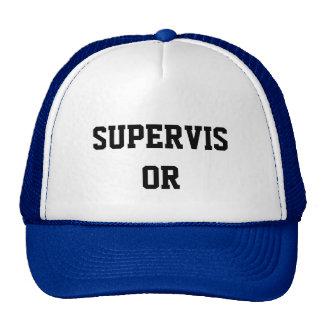 Gorra del supervisor