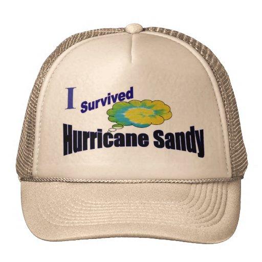 Gorra del superviviente de Sandy del huracán