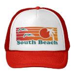 Gorra del sur de Miami de la playa