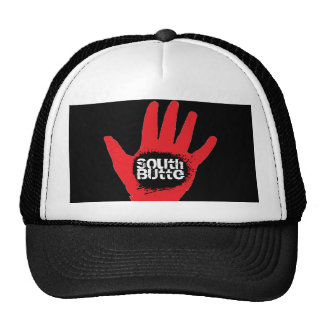 Gorra del sur del camionero de la mano de Blackhol