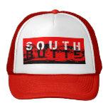 Gorra del sur del camionero de la mota