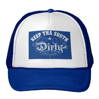 Gorra del sur sucio