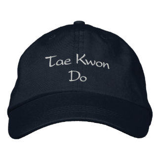 Gorra del Taekwondo Gorro Bordado