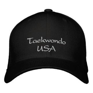 Gorra del Taekwondo los E.E.U.U. Gorra Bordada