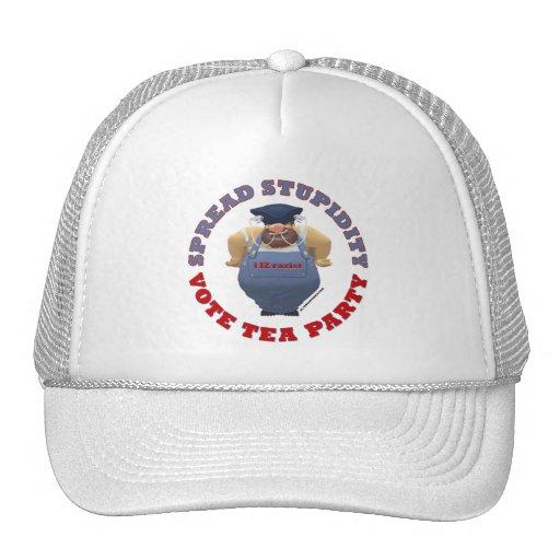 Gorra del TÉ del voto de la estupidez
