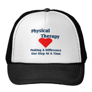 Gorra del terapeuta físico