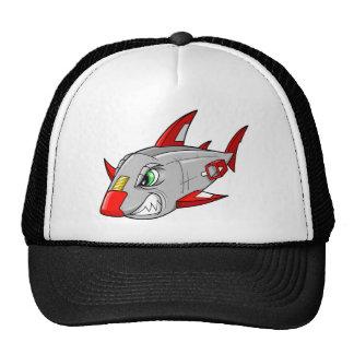 Gorra del tiburón del Cyborg del robot