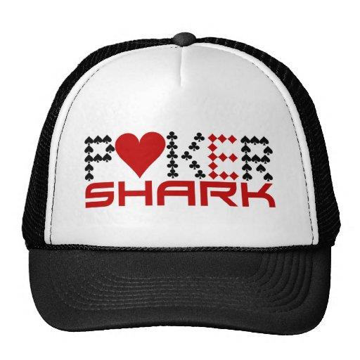 Gorra del tiburón del póker