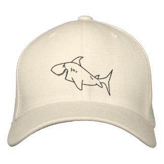 Gorra del tiburón gorra de beisbol bordada