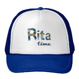 Gorra del tiempo de Rita