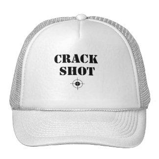gorra del tiro de grieta