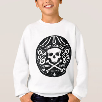 Gorra del traje de la barra del pirata de la ropa sudadera