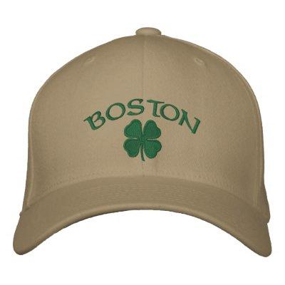 Gorra del trébol de Boston Gorra De Beisbol