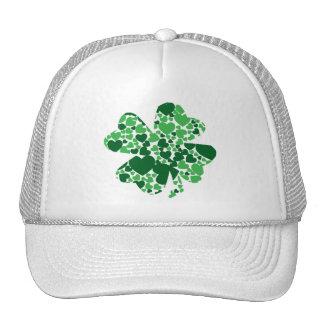 Gorra del trébol del trébol del día de St Patrick