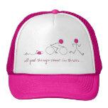 gorra del triathlon