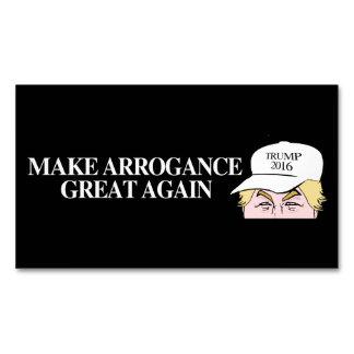 Gorra del triunfo - haga la arrogancia grande otra tarjetas de visita magnéticas (paquete de 25)