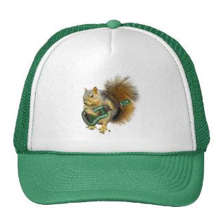 Gorra del Ukulele de la ardilla