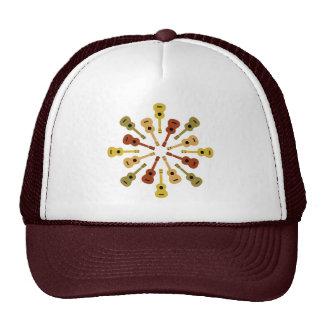 Gorra del Ukulele - elija el color