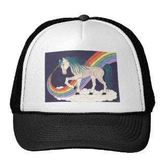 Gorra del unicornio del arco iris