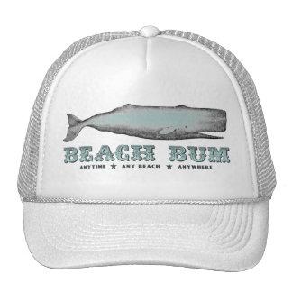 Gorra del vago de la playa de la ballena del vinta