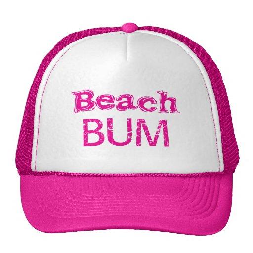 Gorra del vago de la playa de Zazzle