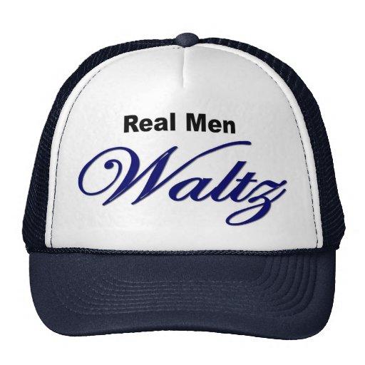 "Gorra ""del vals real de los hombres"""