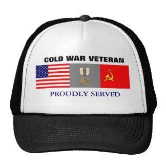 Gorra del veterano de guerra fría