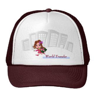 Gorra del viajero de mundo
