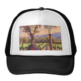 Gorra del viñedo del vino