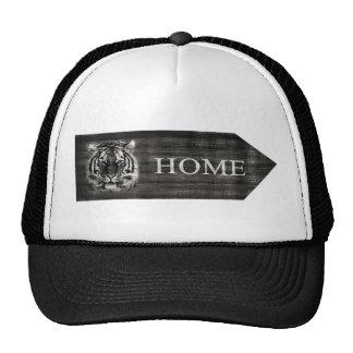 Gorra del vintage de la muestra del tigre