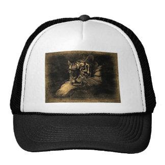 Gorra del vintage del tigre