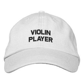 gorra del violín gorro bordado