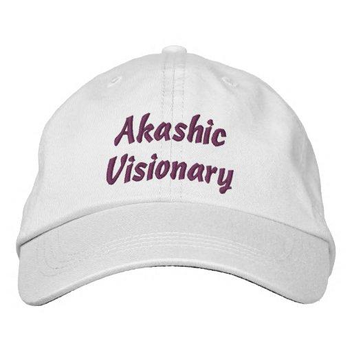 Gorra del visionario de Akashic Gorros Bordados