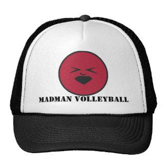 Gorra del voleibol del loco