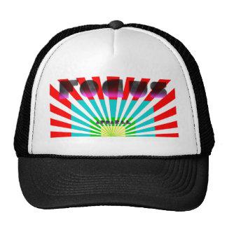 gorra del vórtice de la ropa del foco