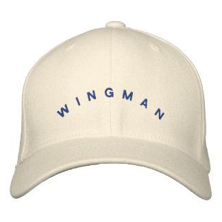 Gorra del Wingman Gorra De Beisbol Bordada