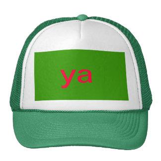gorra del ya