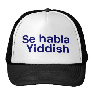Gorra del Yiddish del habla del SE