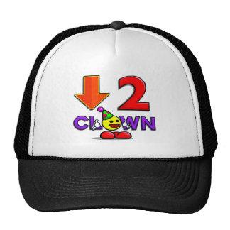 Gorra delicioso del funcionario Down2Clown   abajo