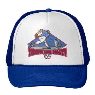 Gorra desagradable del camionero del béisbol que l