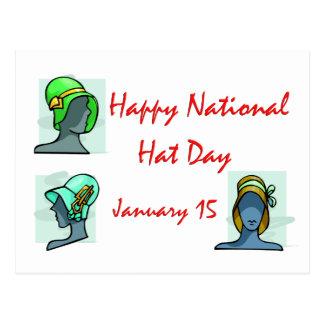 Gorra día 15 de enero nacional tarjetas postales
