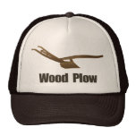 Gorra diverso de la paleta de madera